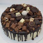 bonbónkový dort