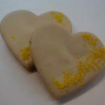 citrónové srdíčko
