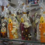 čokoládové figurky